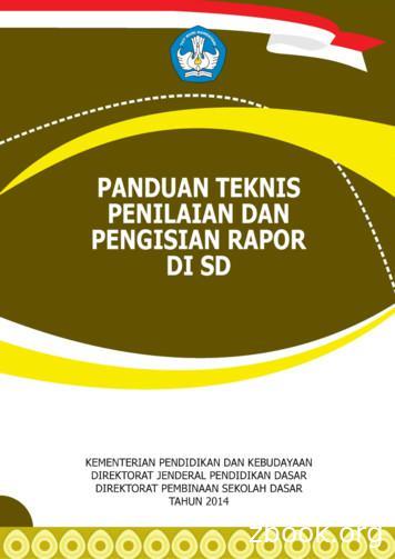 Panduan Teknis Penilaian & Pengisian Rapor di SD i