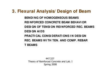 3 Flexural Analysis/Design of Beam3. Flexural Analysis .