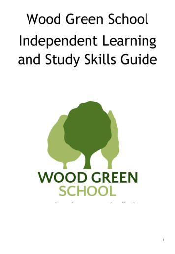 Wood Green School Independent Learning and Study Skills Guide