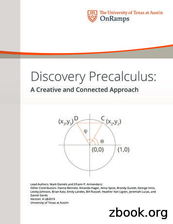 Discovery Precalculus
