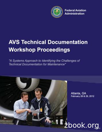 Technical Documentation Challenges in Aviation Maintenance .