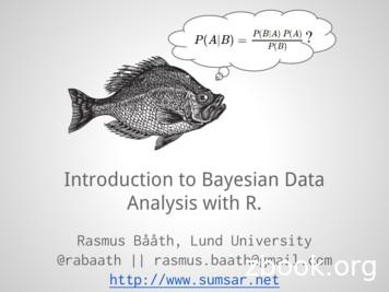 Analysis with R. Introduction to Bayesian Data