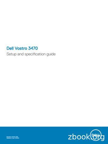 Dell Vostro 3470 - GfK Etilize
