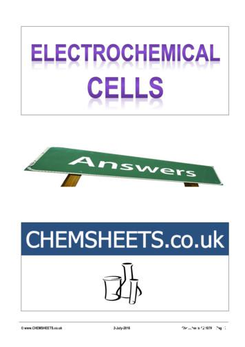 CHEMSHEETS.co.uk 2-July-2016 Chemsheets A2 1076 Page 1
