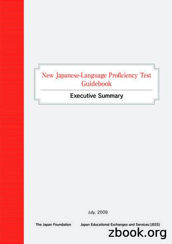New Japanese-Language Proficiency Test Guidebook