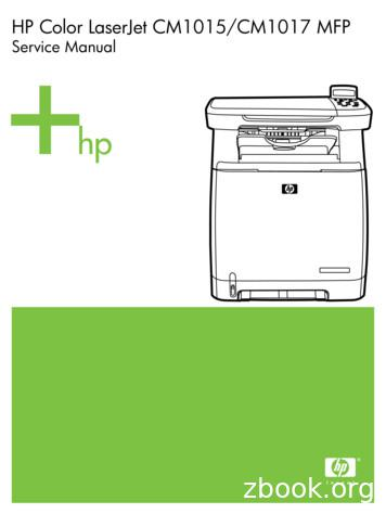 HP Color LaserJet CM1015/CM1017 MFP Service Manual - ENWW