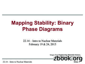 Lecture 3 Binary Phase Diagrams - MIT OpenCourseWare