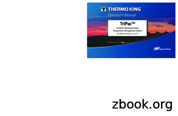 TriPac - Thermo King Units, Parts and Service and .