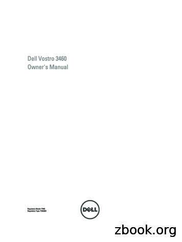 Dell Vostro 3460 Owner's Manual