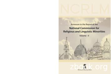 National Commission for Religious and Linguistic Minorities