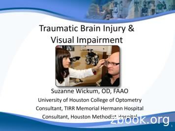 Traumatic Brain Injury & Visual Impairment