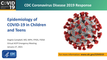 Global Epidemiology and Prevention of COVID-19