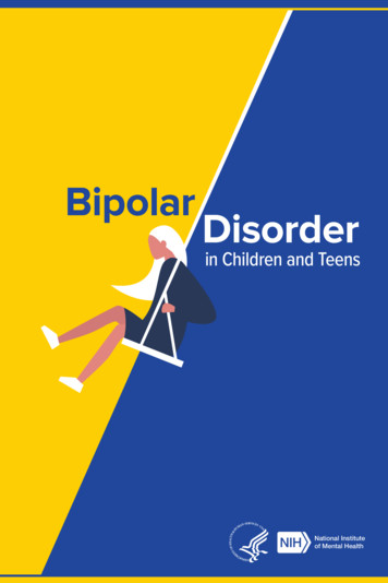 Bipolar Disorder in Children and Teens - NIMH