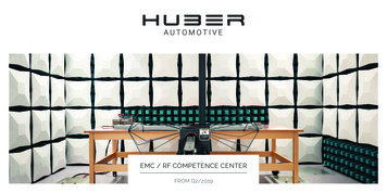 EMC / RF COMPETENCE CENTER - Huber Automotive AG