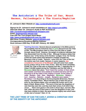 The Antichrist & The Tribe of Dan, Mount Hermon .