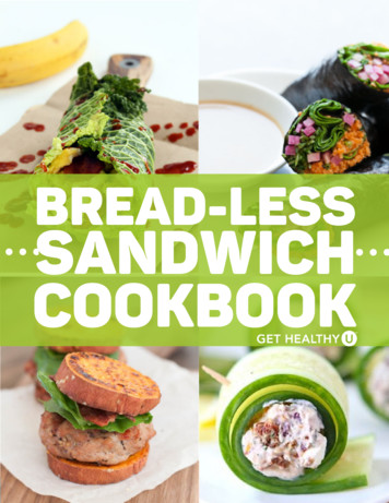 Breadless Sandwich Cookbook