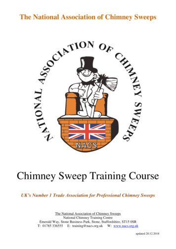 Chimney Sweep Training Course - The National Association .