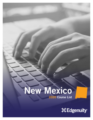 New Mexico - Edgenuity Inc.