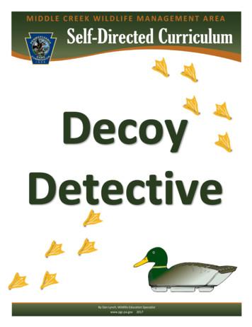 Decoy Detective Middle Creek Wildlife Management Area