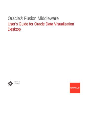 User s Guide for Oracle Data Visualization Desktop