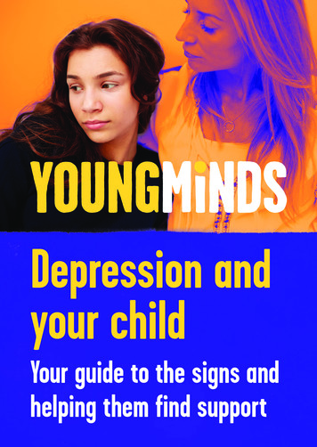 Depression and your child - children and young people's .