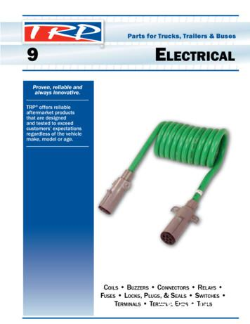 Parts for Trucks, Trailers & Buses 9 ELECTRICAL