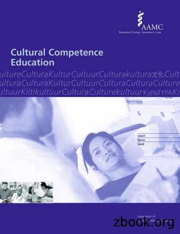 Cultural Competence Education - AAMC