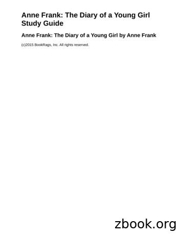 Anne Frank: The Diary of a Young Girl Study Guide