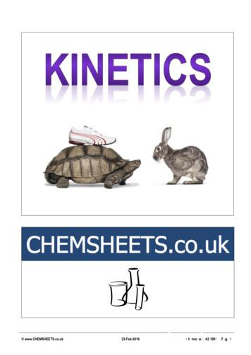 CHEMSHEETS.co.uk 23-Feb-2016 Chemsheets A2 1001 Page