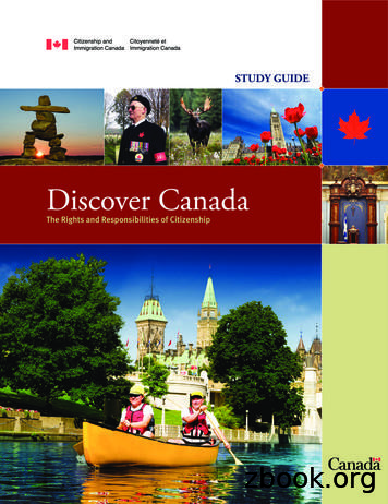 Discover Canada - The Rights and Responsibilities of .