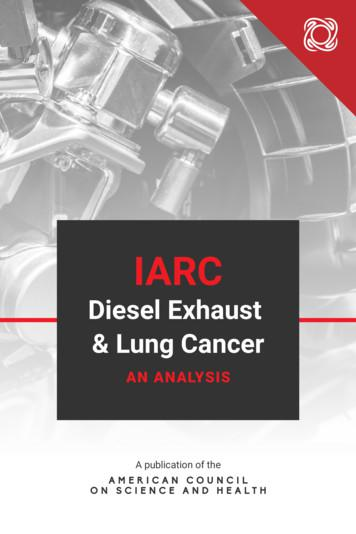 Diesel Exhaust & Lung Cancer