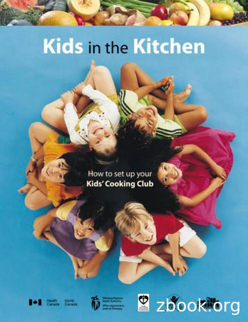 Kids in the Kitchen - WRHA Professionals