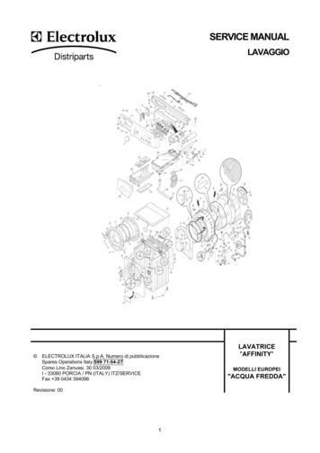 service manual electrolux-pdf free download  zbook.org