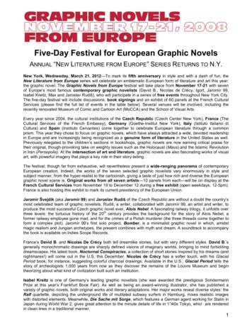 Five-Day Festival for European Graphic Novels