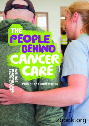 Patient and staff stories - Macmillan Cancer Support