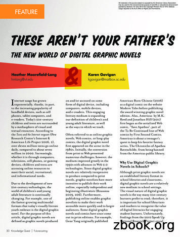 The New World of Digital Graphic Novels T