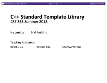 C Standard Template Library