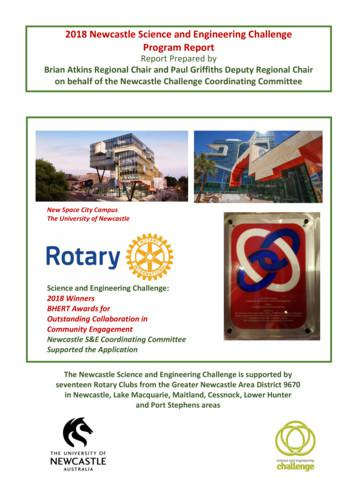 2018 Newcastle Science and Engineering Challenge Program .