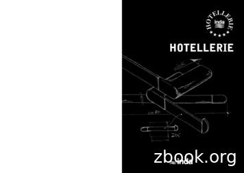 HOTELLERIE - grinberger.co.il
