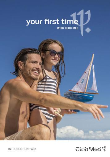 your first time - Club Med Sunway