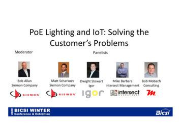 PoE Lighting and IoT: Solving the Customer's Problems