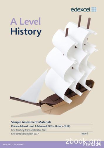 A Level History - Edexcel