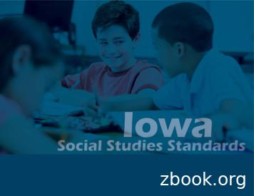 K-12 Iowa Core Standards in Social Studies