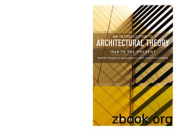 Architectur Al t heory - .e-bookshelf.de