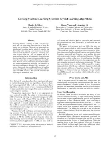 Lifelong Machine Learning Systems: Beyond Learning Algorithms