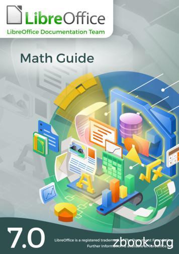LibreOffice Math Guide Version 7
