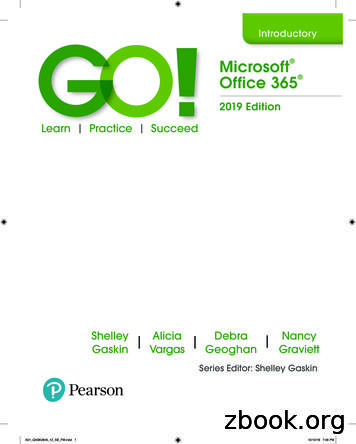 Microsoft Office 365 - Pearson Education