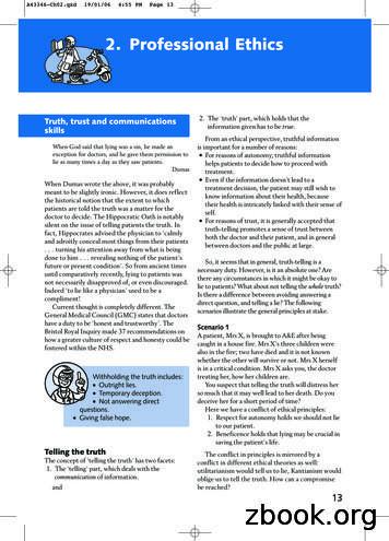 2. Professional Ethics - Elsevier