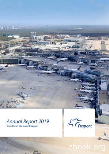 Annual Report 2019 - fraport