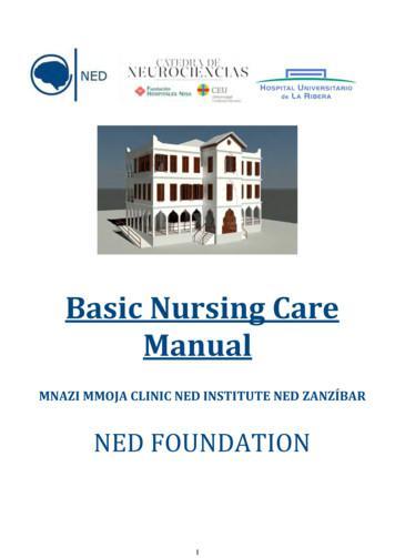 Basic Nursing Care Manual - catedraneurocienciascnn